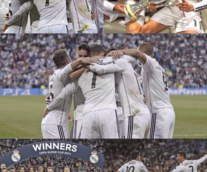 Collage, real madrid, and soccer image