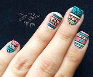 nails, cool, and fashion image