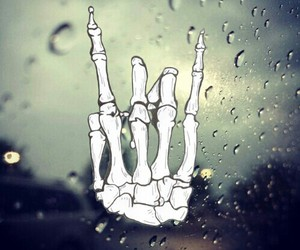rock, cool, and rain image