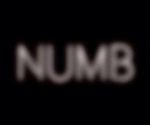 NUMB and sad image