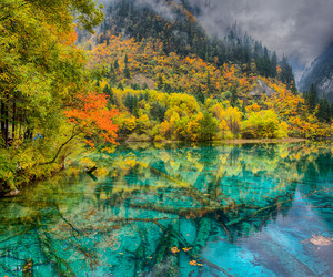 china and national park juizhaigou image