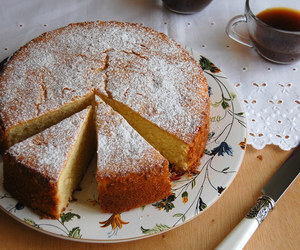 cake, ginger, and lime image