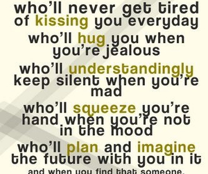 love, quote, and hug image