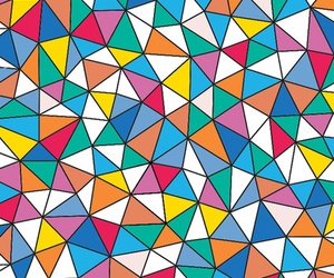 background, colors, and triangle image