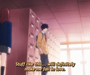 anime and ao haru ride image