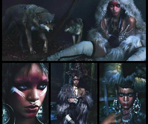 photoshoot, rihanna, and septum image