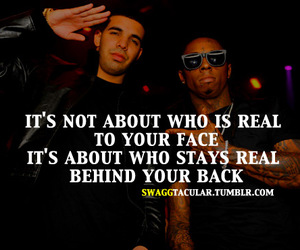 Drake, quote, and real image