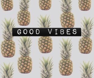 wallpaper, pineapple, and good vibes image