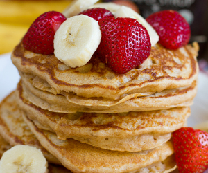 banana, whole wheat, and breakfast image