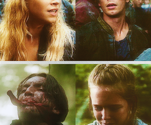 bellamy, charlotte, and the 100 image