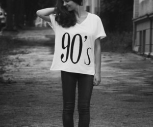 90s and girl image