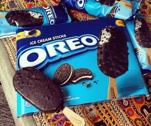 oreo, ice cream, and yummy image