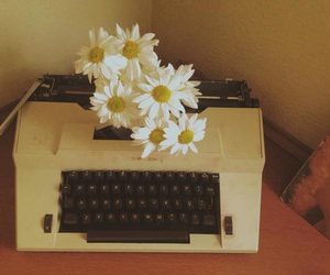beauty, cool, and typewriter image