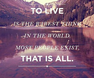 live, quote, and life image