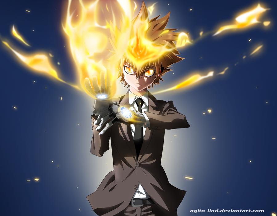 Izuku Midoriya Hero Academia Vs Tsunayoshi Sawada Hitman Reborn