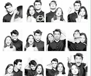 harry potter, daniel radcliffe, and ginny weasley image