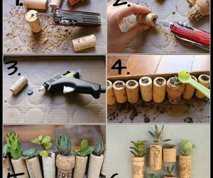 diy, magnets, and planters image