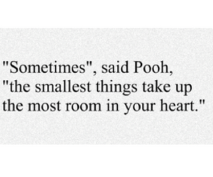 pooh, quote, and cute image