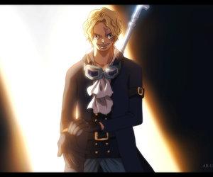 anime, one piece, and sabo image