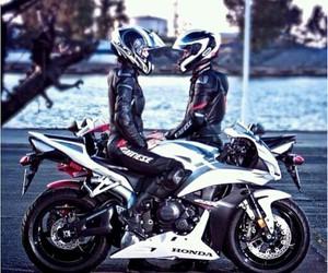 couple, motorbike, and tumblr image