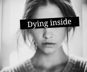 dying, sad, and inside image