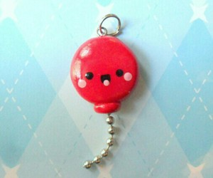 balloon, polymer clay, and cute image