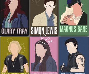 books, fandoms, and mortal instruments image