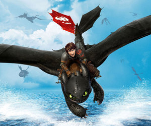 hiccup, animated movie, and toothles image