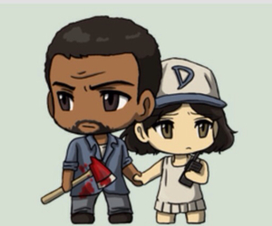 game, twd, and the walking dead image
