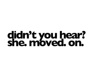 quote, life, and move on image
