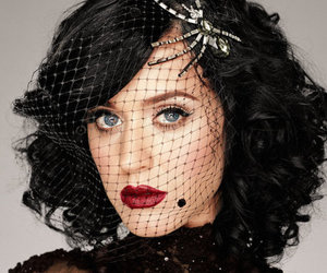 katy perry and red lips image