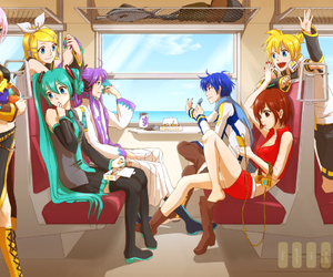 vocaloid, anime, and gakupo image