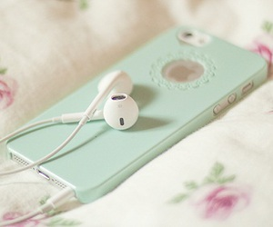 iphone and music image