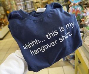 hangover and shirt image