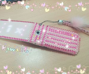 bling, pink, and lg image