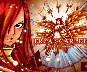 fairy tail, erza, and erza scarlet image