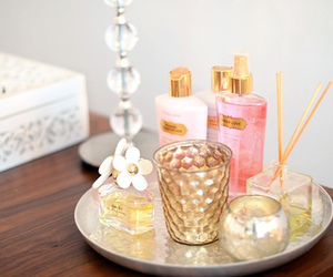 perfume, Victoria's Secret, and pink image