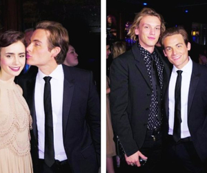 Kevin Zegers and lily collins image