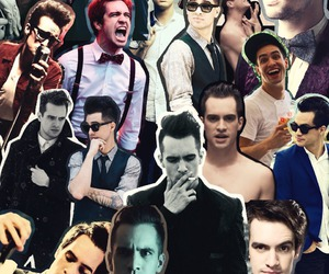 baby, brendon urie, and Collage image