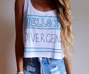 divergent, fashion, and outfit image