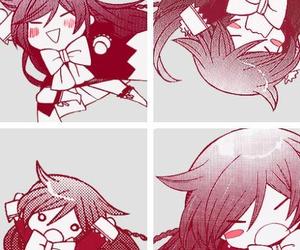 pandora hearts, alice, and manga image