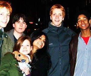 ginny weasley, fred weasley, and harry potter image