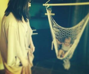 selena gomez, family, and baby image