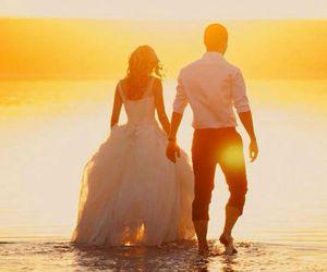 summer, wedding, and sun image