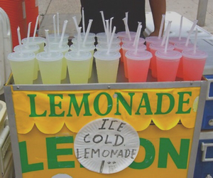 lemonade, tumblr, and drink image