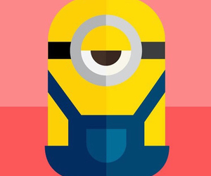 iphone, minion, and wallpaper image