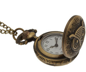 clock, vintage, and necklace image