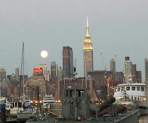 buildings, city, and empire state building image