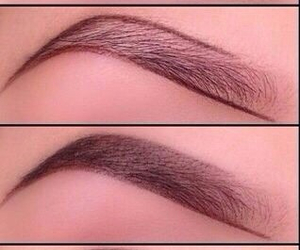 diy, brows, and eyes image