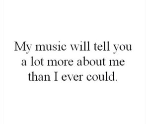 music, quote, and my life image